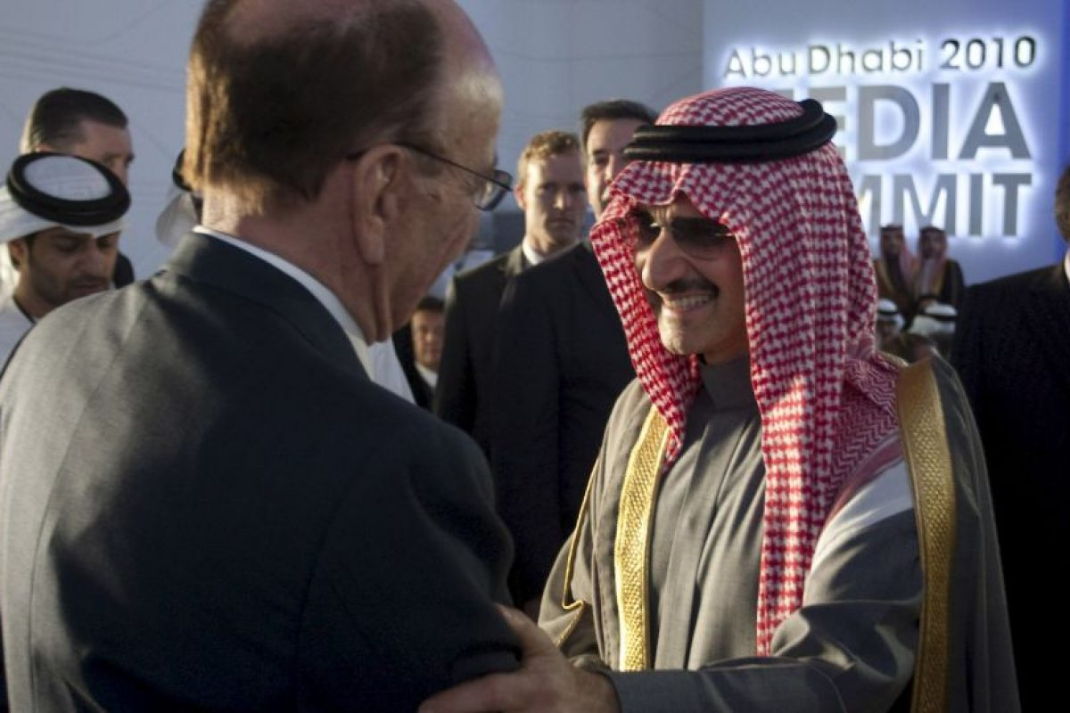 Principe Alwaleed bin Talal, presidente de Alwaleed Philanthropies Foto:Getty Images