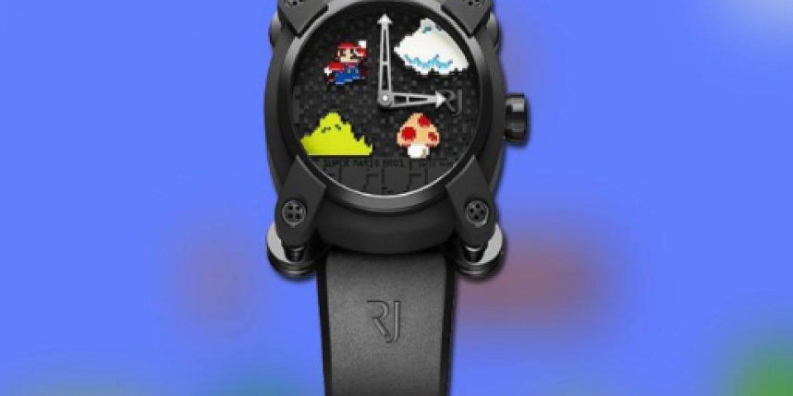 "Reloj Romain Jerome versión ""Súper Mario Bros."". Foto:romainjerome.ch"