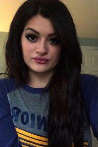 Gabrielle Waters es una chica de 19 años, originaria de Michigan, que tiene un impresionante parecido con la hermana menor de las Kardashian. Foto:Vía instagram.com/gabywaters23
