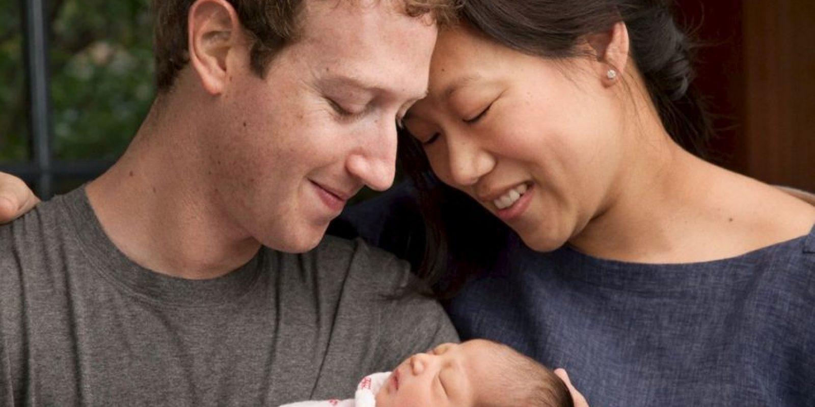 Mark Zuckerberg presumió el nacimiento de su hija Max Foto:Vía facebook.com/MarkZuckerberg