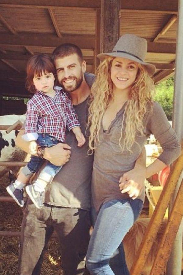 Tienen dos hijos: Milan y Sasha Foto:Vía instagram.com/shakira