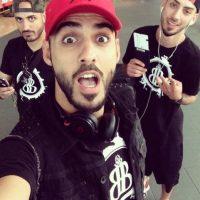 A continuación les dejamos más fotos de Omar y su hermano idéntico a él. Foto:Vía Instagram/@omarborkan