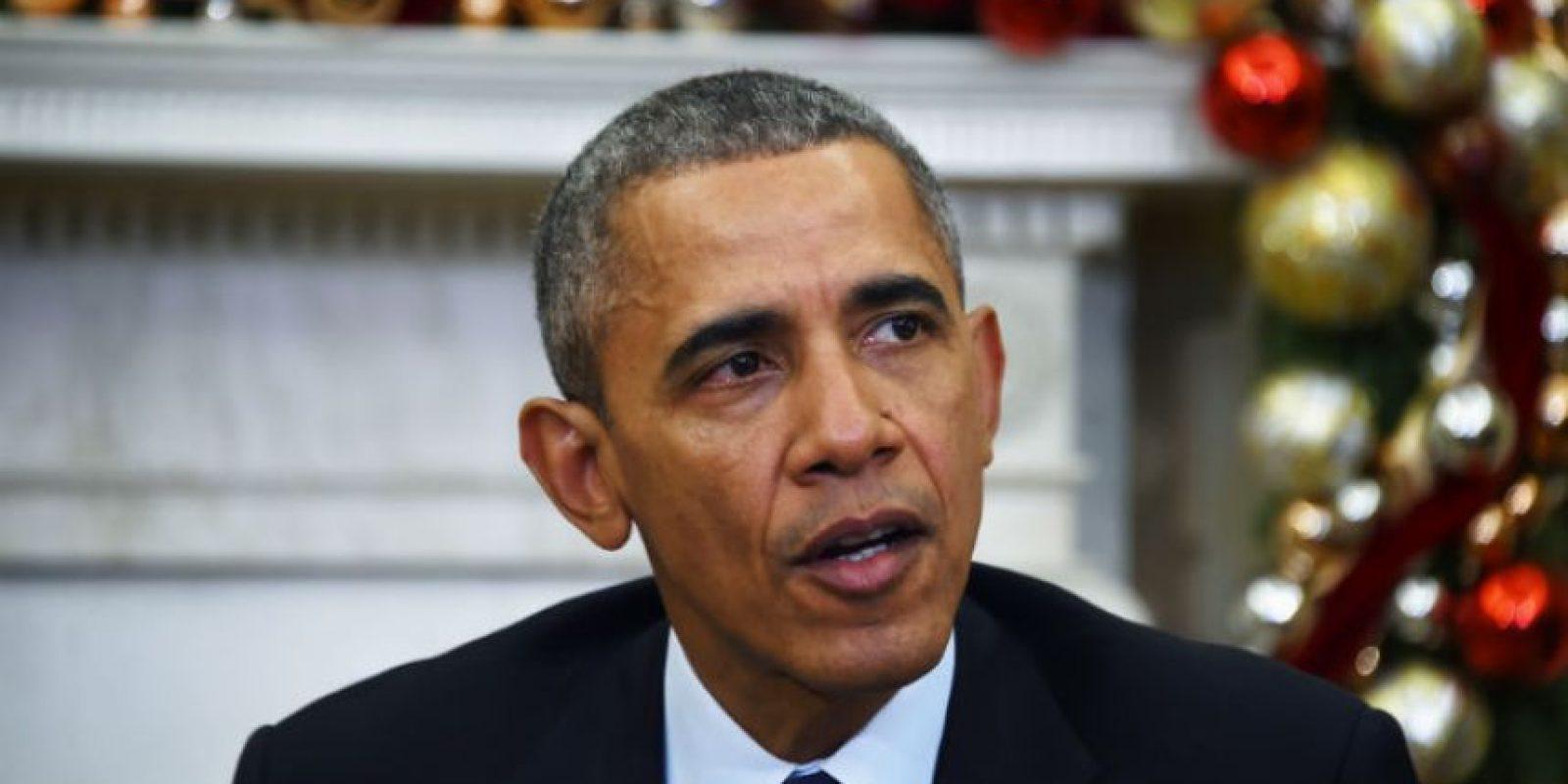 El presidente estadounidense Barack Obama lamentó la muerte de las víctimas. Foto:AFP