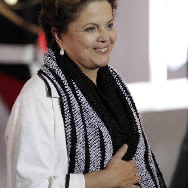 2. Su nombre completo es Dilma Vana da Silva Rousseff. Foto:Getty Images