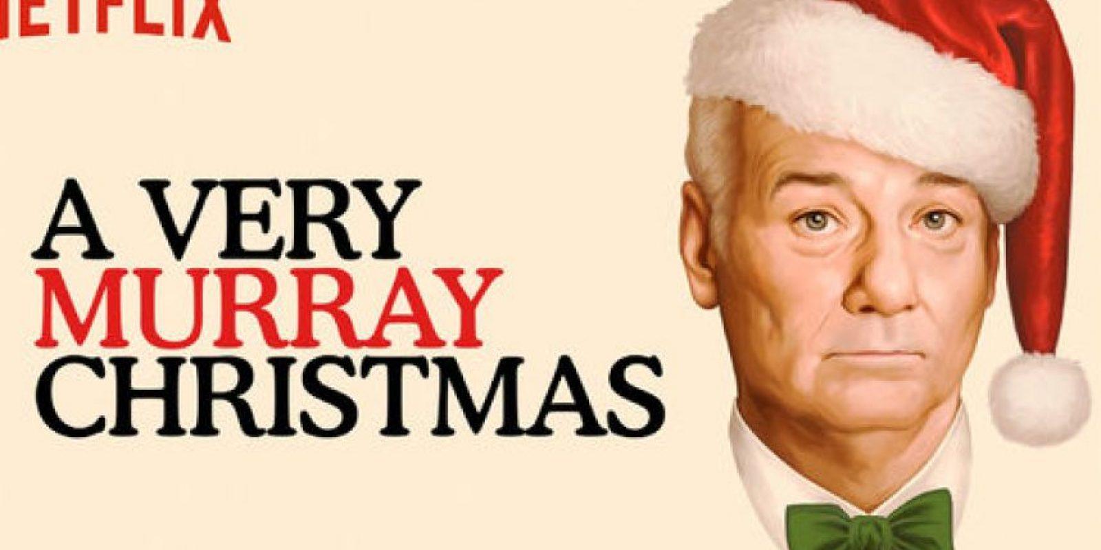 """""""A very Murray Christmas"""". Disponible a partir del 4 de diciembre. Foto:vía Netflix"""