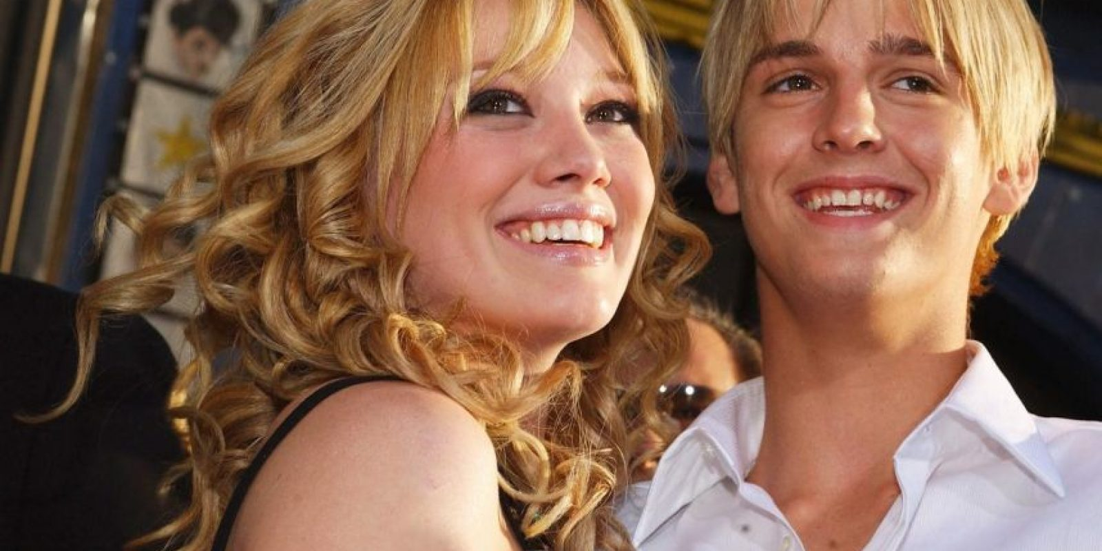 Aaron Carter y Hilary Duff