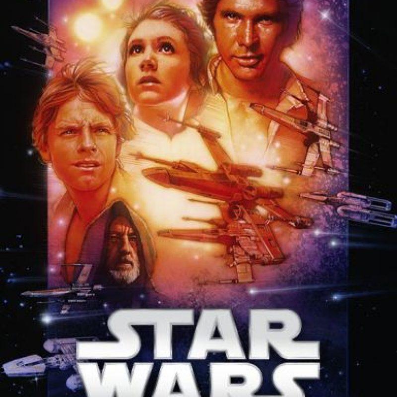 """""""La guerra de las galaxias, una nueva esperanza"""". Ya disponible. Foto:vía Netflix"""