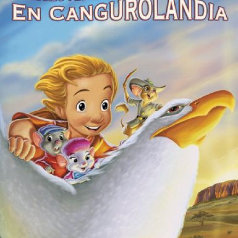 """""""Bernardo y Bianca en Cagurolandia"""". Disponible a partir del 9 de diciembre. Foto:vía Netflix"""