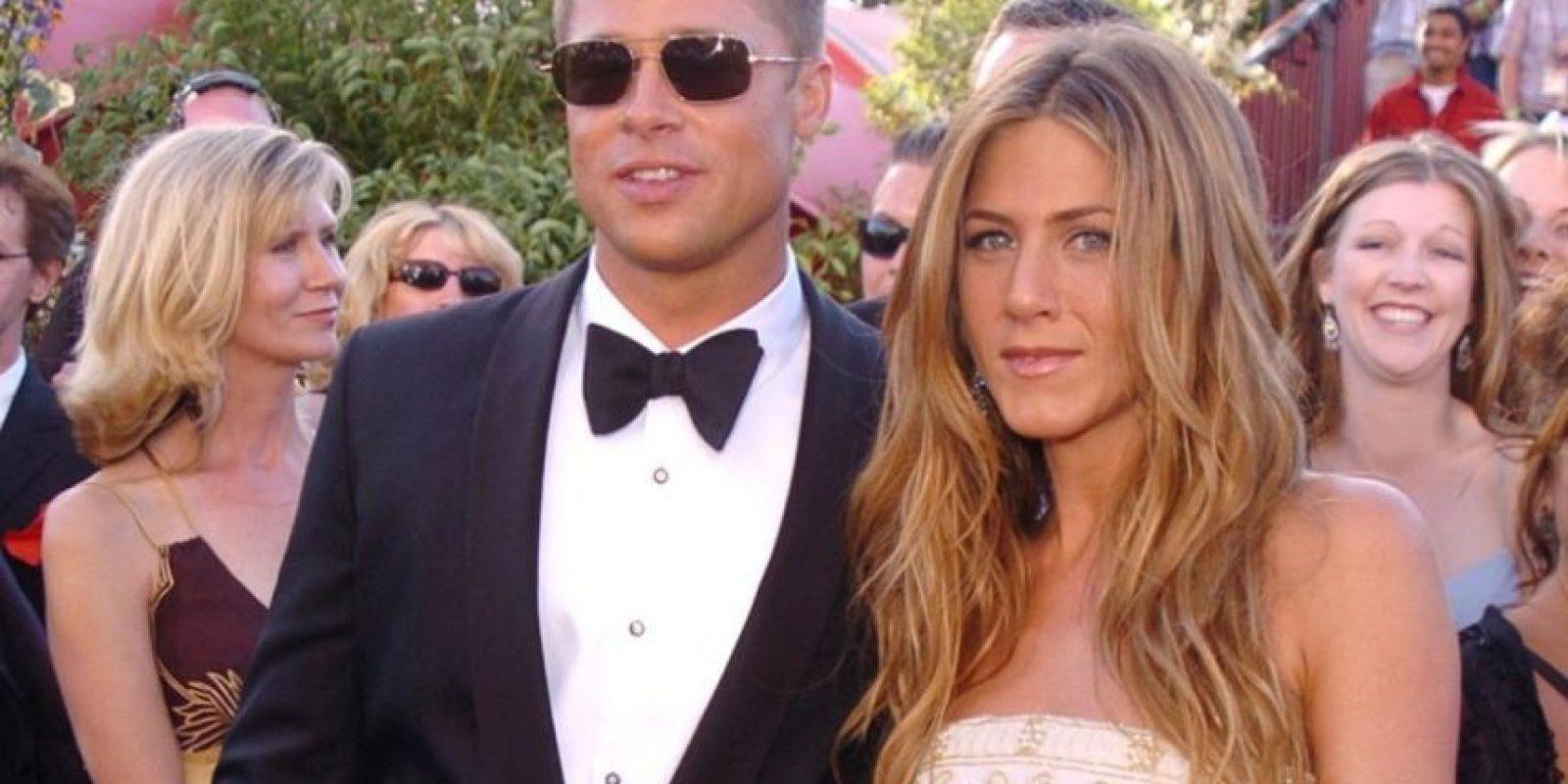 Jennifer Aniston y Brad Pitt Foto:Agencias