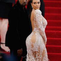 Y hasta lució este vestido semitransparente en el MET Gala Foto:Getty Images