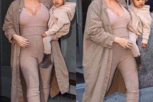 Su cuerpo poco a poco comenzó a generar cambios Foto:vía instagram.com/kimkardashian