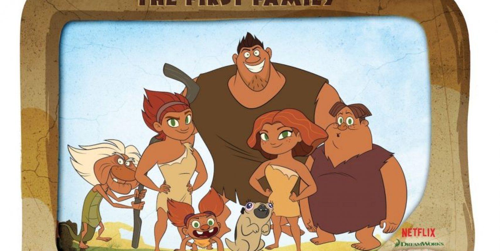 """""""El amanecer de los Croods"""" – Temporada 1. Disponible a partir del 24 de diciembre. Foto:vía Netflix"""
