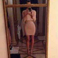 El mismo día, Kim se fotografió y su cuerpo lució más estilizado en las redes sociales. Foto:Instagram/kimkardashian