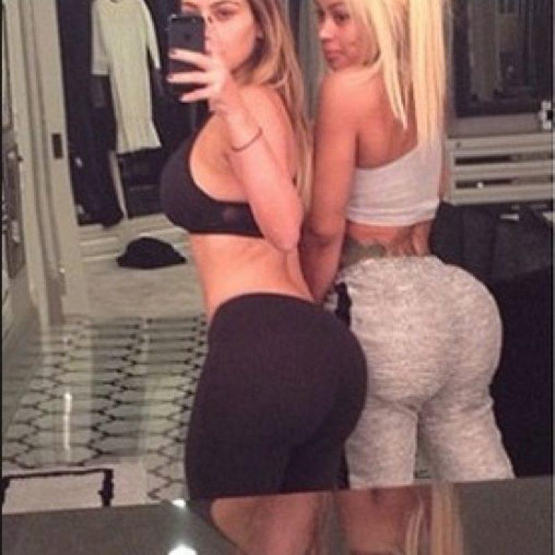 Kim Kardashian y Blac Chyna Foto:Instagram/kimkardashian