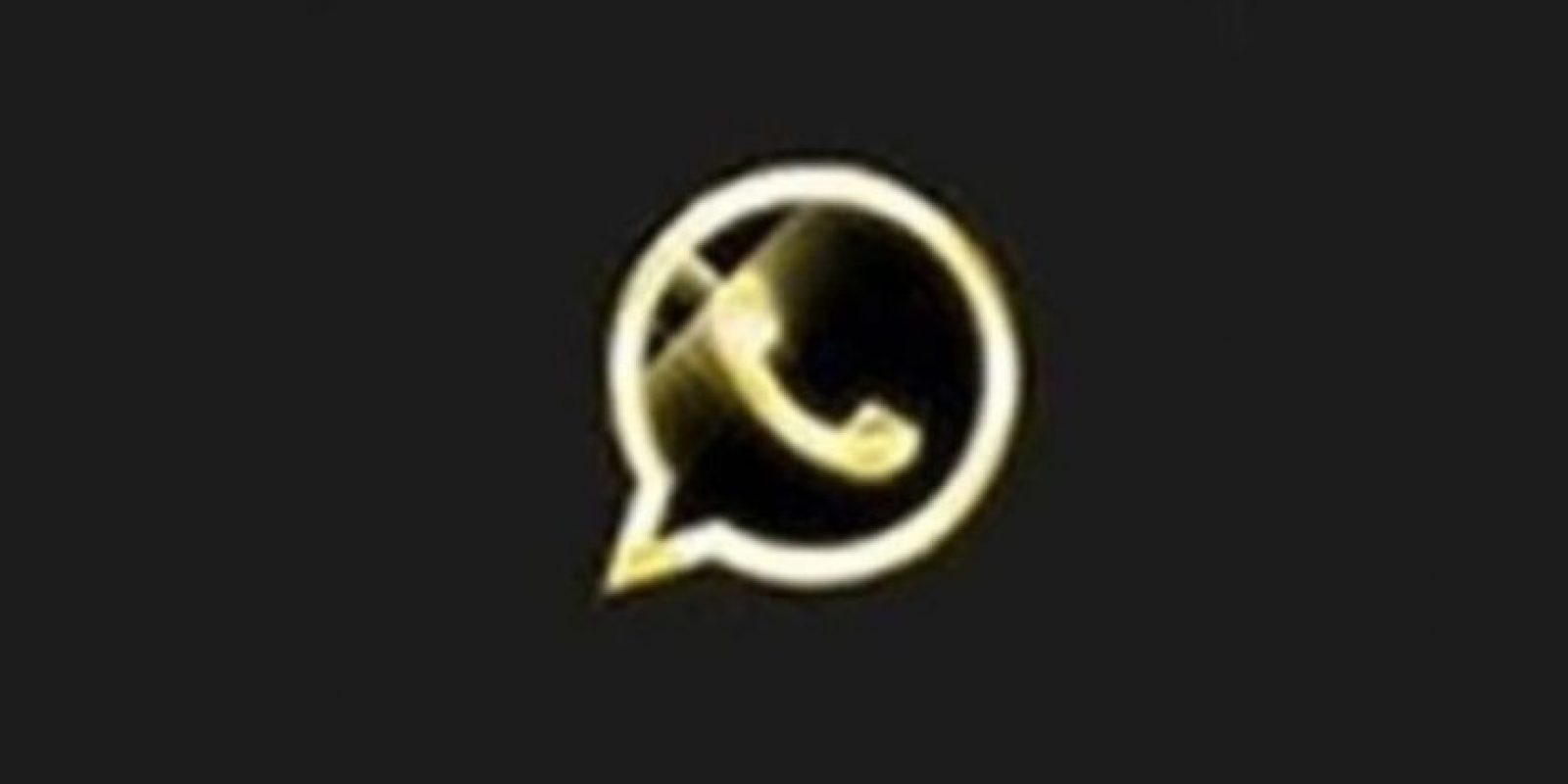 1- WhatsApp Oro. Foto:vía Tumblr.com