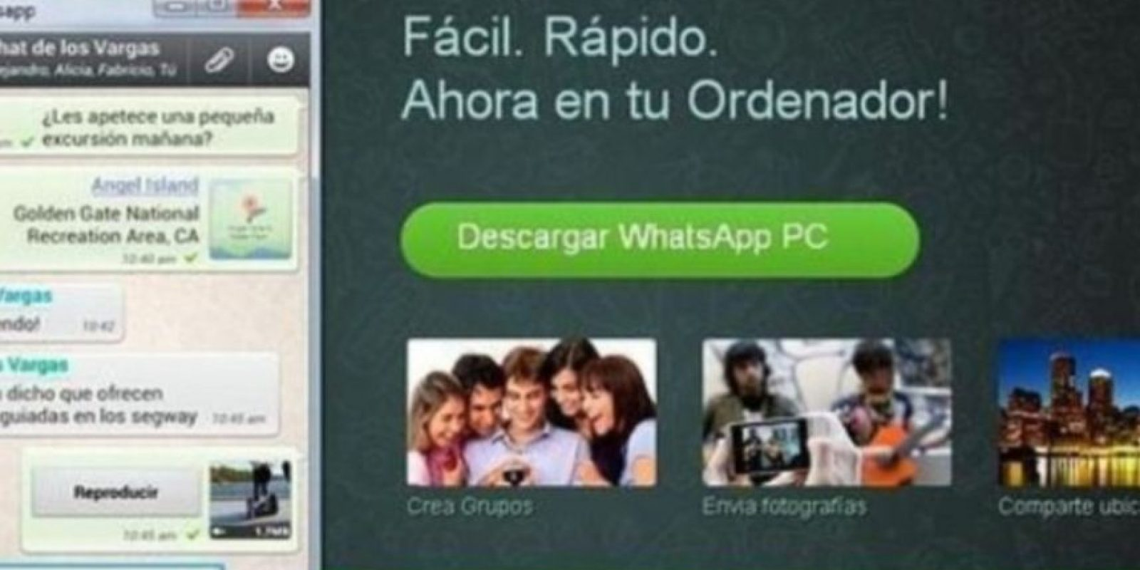 4- WhatsApp para PC. Foto: vía Tumblr.com