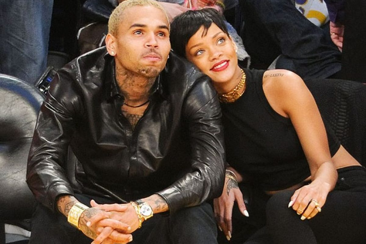 Rihanna y Chris Brown