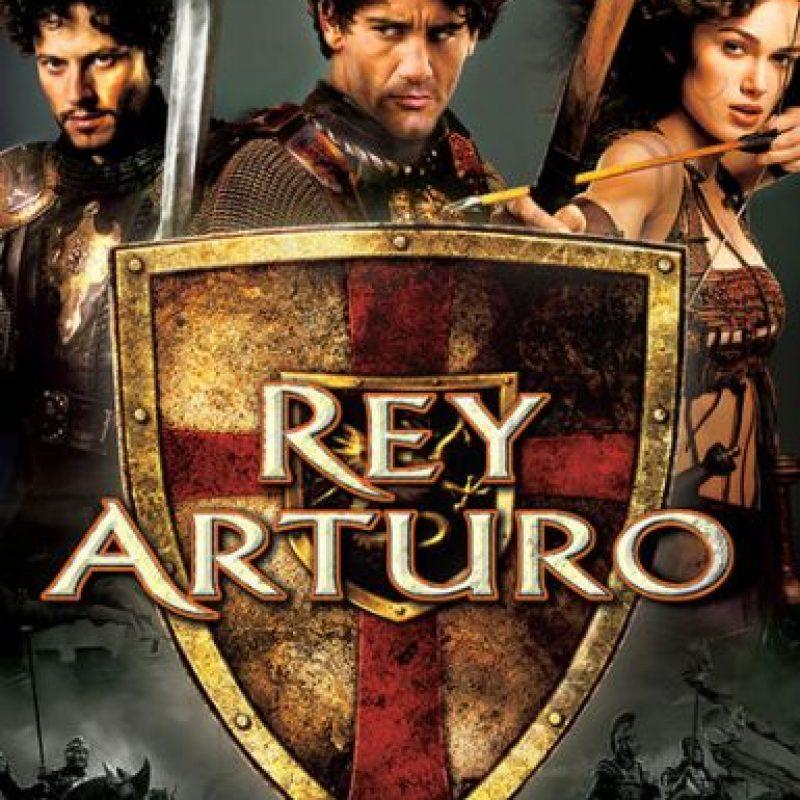"""Rey Arturo"". Disponible a partir del 9 de diciembre. Foto:vía Netflix"