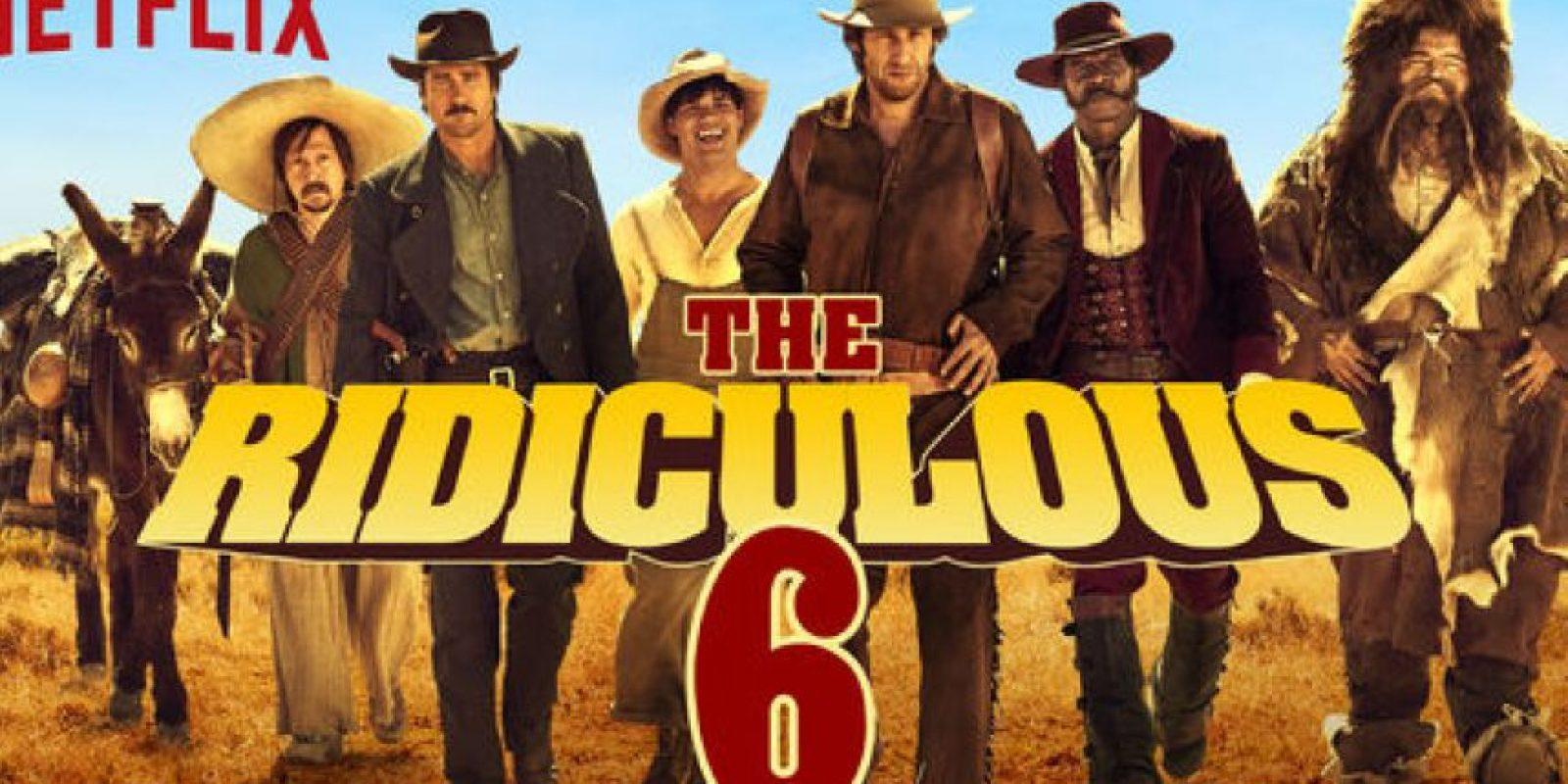 """""""The Ridiculous 6"""". Disponible a partir 11 de diciembre. Foto:vía Netflix"""