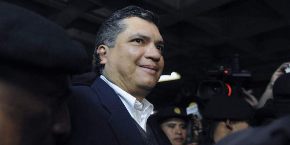 El revés judicial para el yerno del expresidente Otto Pérez