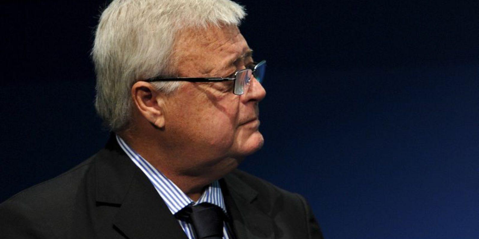Ricardo Teixeira. Brasileño, presidente Confederación Brasileña de Fútbol desde 1989 hasta 2012, fue reemplazado por José Maria Marín Foto:Getty Images