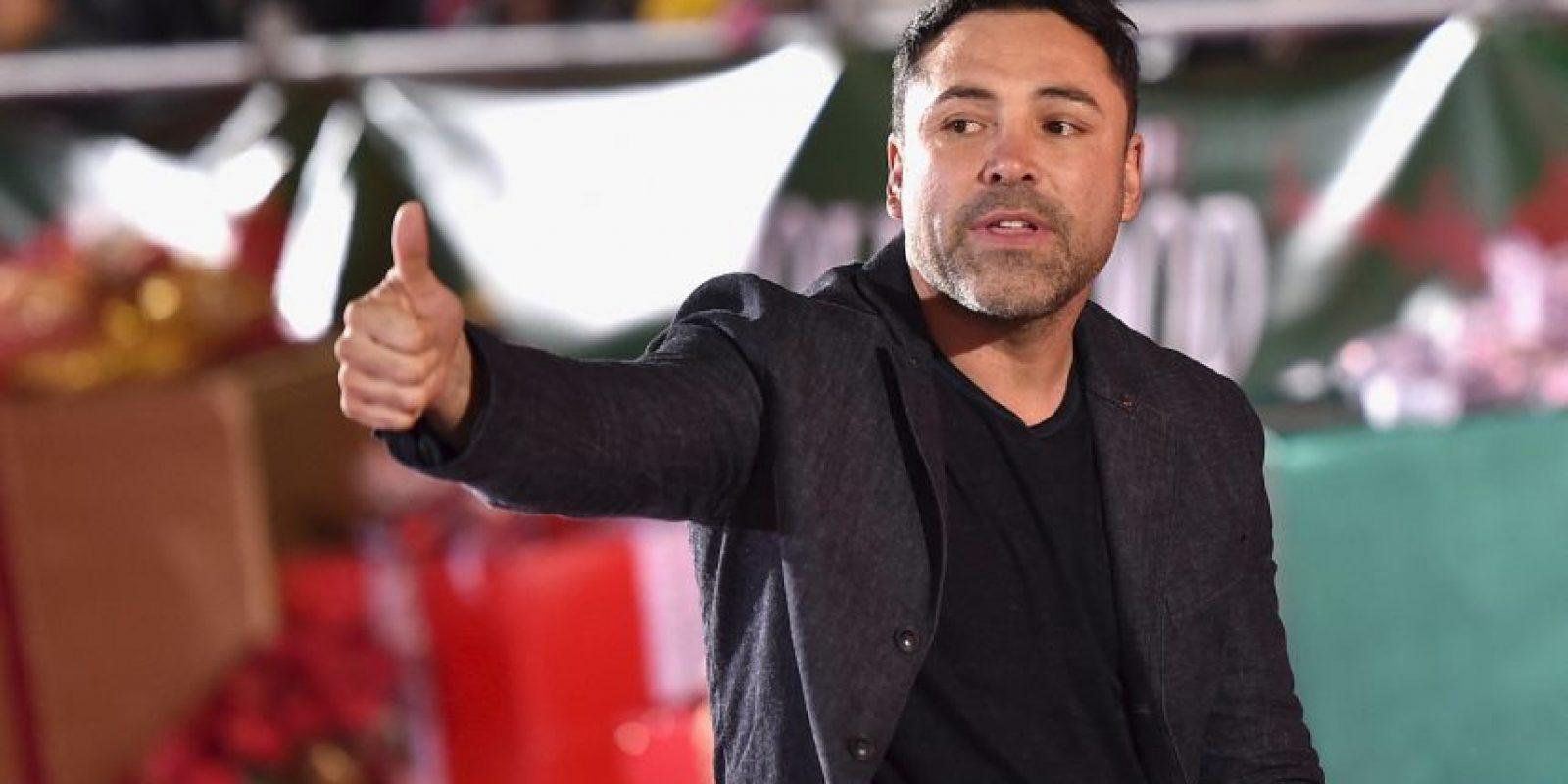 """De la Hoya fue unas de las víctimas de """"Money"""" Foto:Getty Images"""