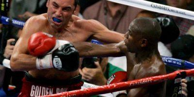 El ahora promotor fue la víctima número 38 de Floyd Foto:Getty Images