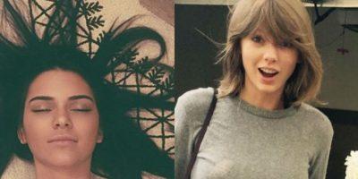 Las Jenner y Taylor Swift reinan la red social Instagram. Foto:Instagram