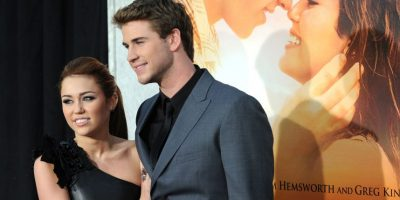 Miley Cyrus y Liam Hemsworth Foto: Agencias