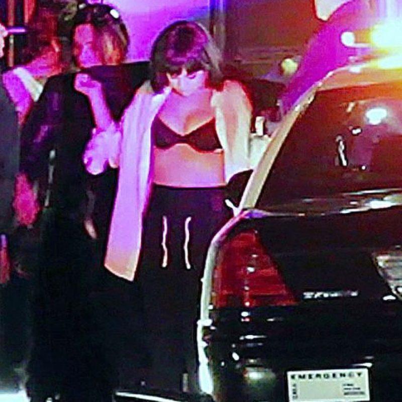 Selena Gómez se encuentra en la grabación de su próximo videoclip Foto:Grosby Group