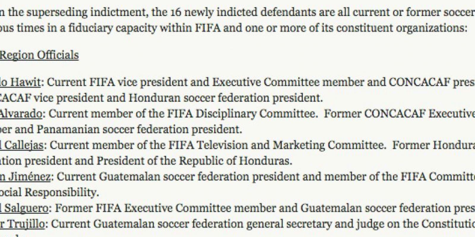 Los nombres de Rafael Salguero, Héctor Trujillo y Brayan Jiménez están en el informe. Foto:Publinews