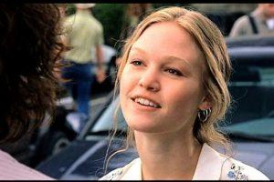 """Julia Stiles se hizo famosa por su papel como """"Katrina Strafford"""" en """"10 cosas que odio de tí"""". Foto:vía Getty Images"""