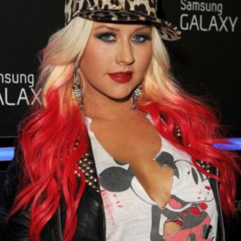 1. Christina Aguilera Foto: Getty Images