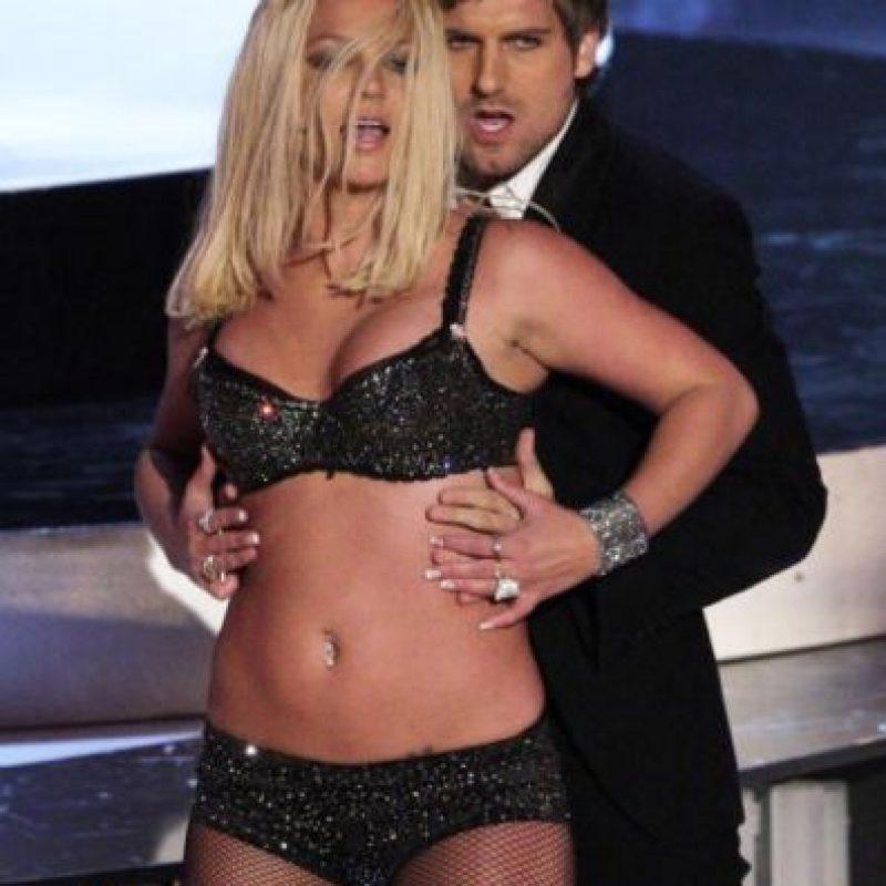 Ella aceptó frente a los medios haber engordado debido al divorcio con su ex pareja Kevin Federline. Foto:Getty Images