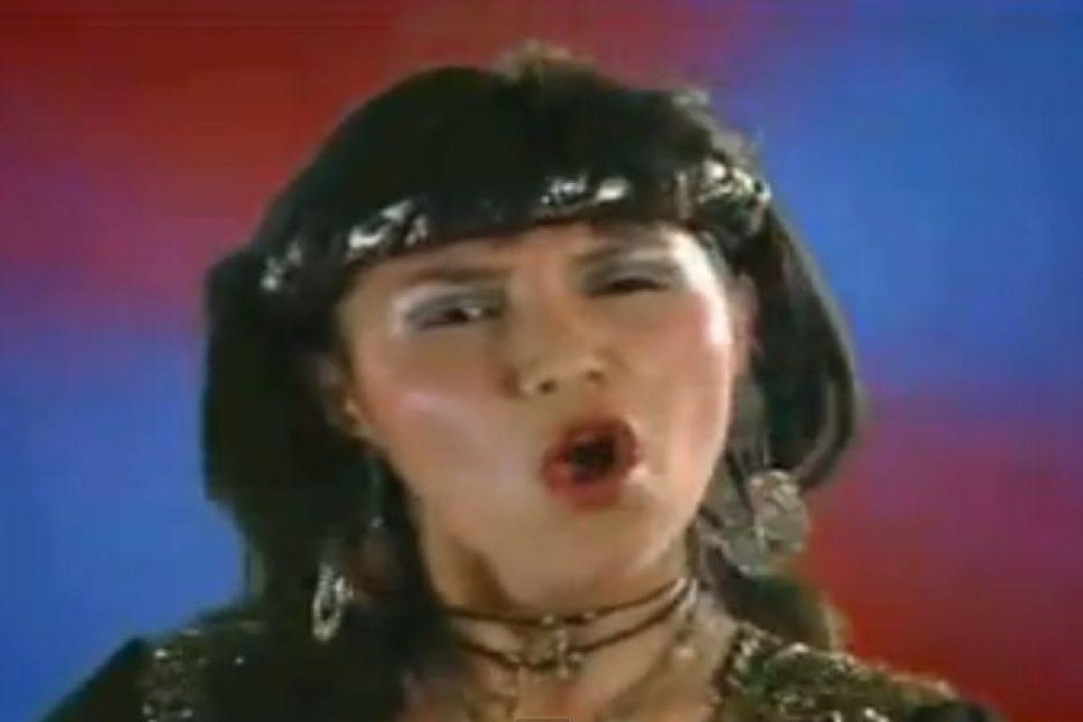 """Rossy War se destacó a comienzos de la década pasada en México y Sudamérica por su canción """"Nunca Pensé Llorar"""". Foto:vía Facebook/Rossy War y la Banda Kaliente"""