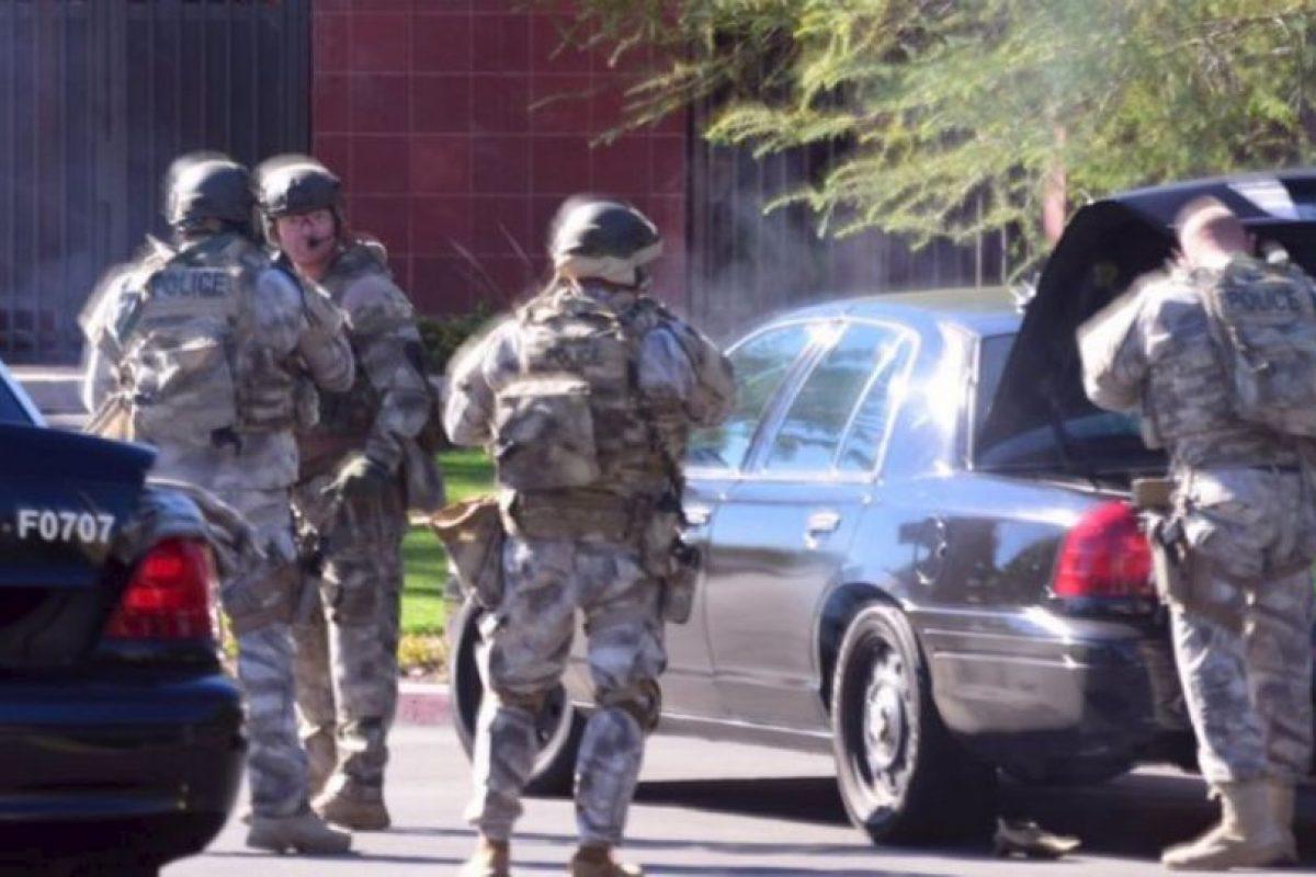 Los otros dos sospechosos resultaron abatidos. Foto:vía AFP