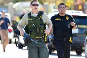 Ya se identificó a uno de los tres sospechosos del tiroteo masivo en San Bernardino. Foto:vía AFP