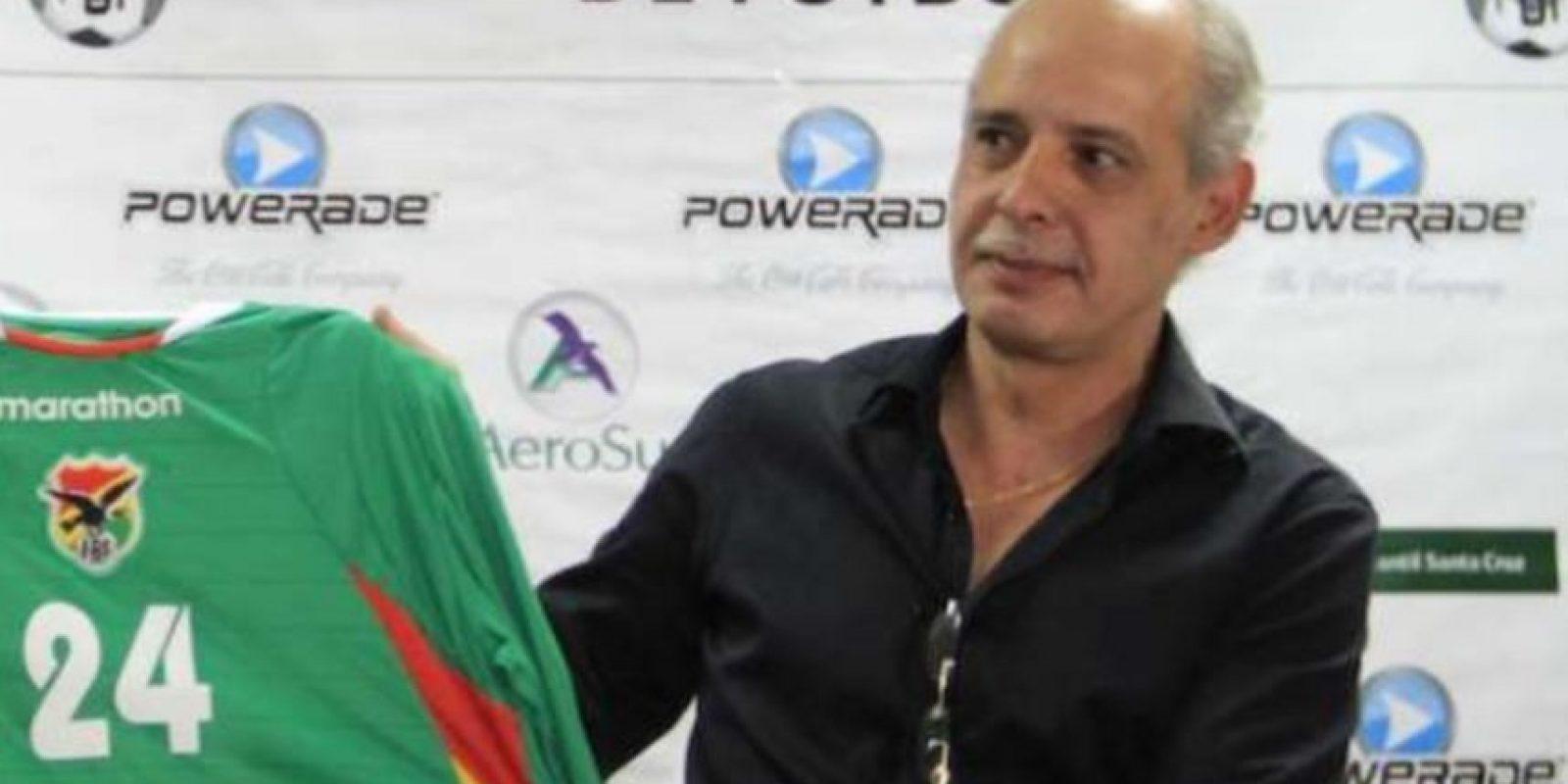 Carlos Chávez. Boliviano, ex presidente de la Federación Boliviana de Fútbol y ex tesorero de Conmebol. Foto:Getty Images