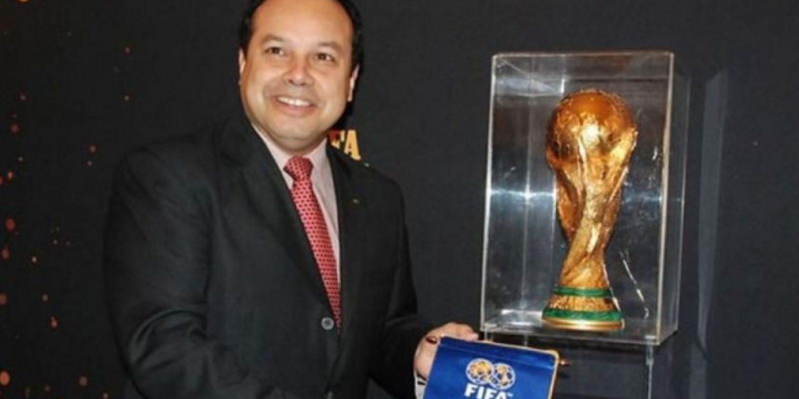 Ariel Alvarado. Panameño, presidente de la Federación Panameña Fútbol (Fepafut) entre 2000 y 2011 y además formó parte del Comité Ejecutivo de la Concacaf. Foto:Getty Images