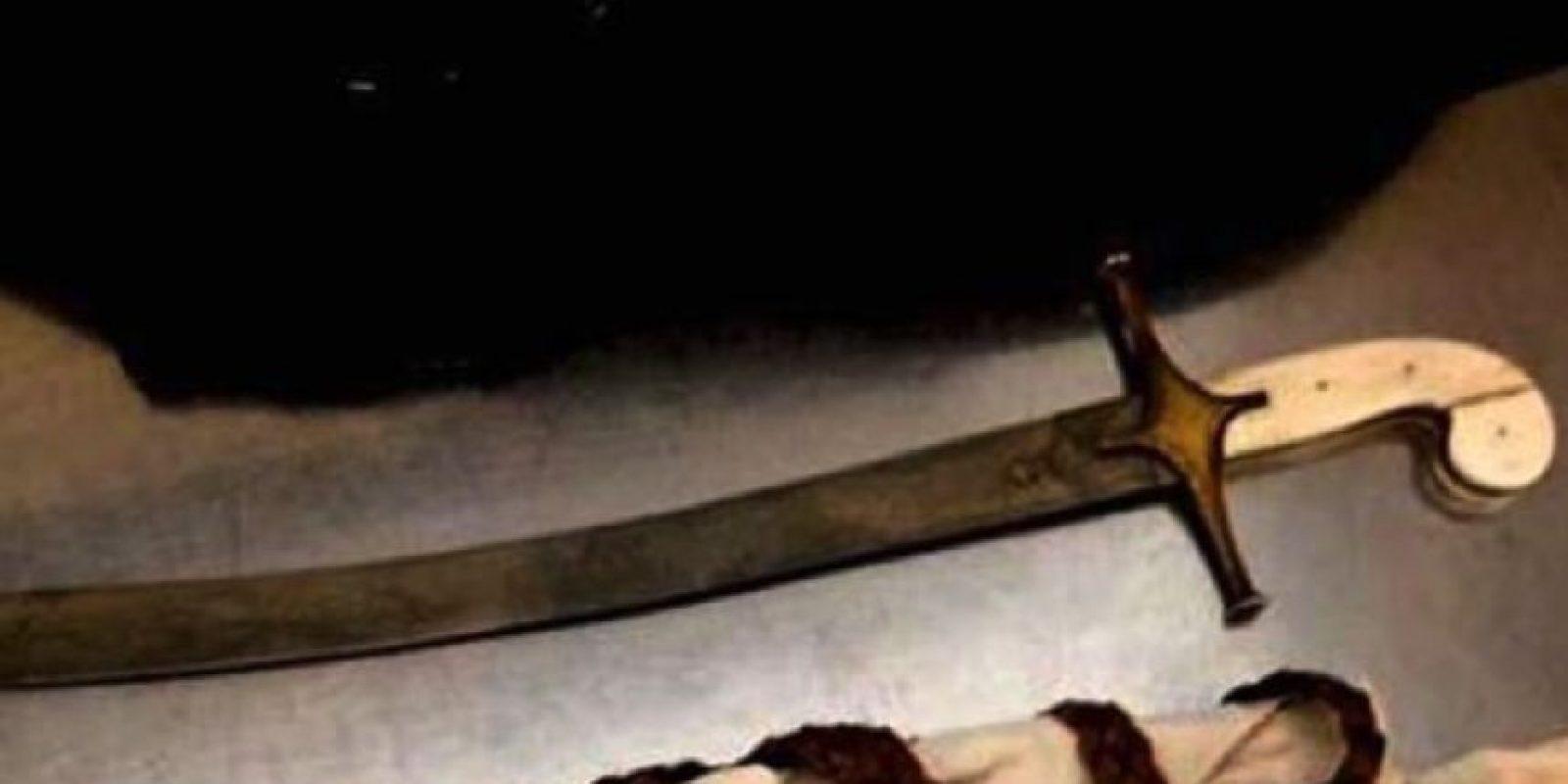 Espadas Foto:Vía Instagram.com/tsa