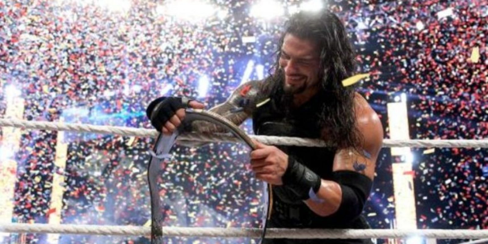 1. Roman Reigns Foto:WWE