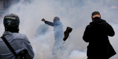 Protestas por el cambio climático en Francia. Foto:AFP