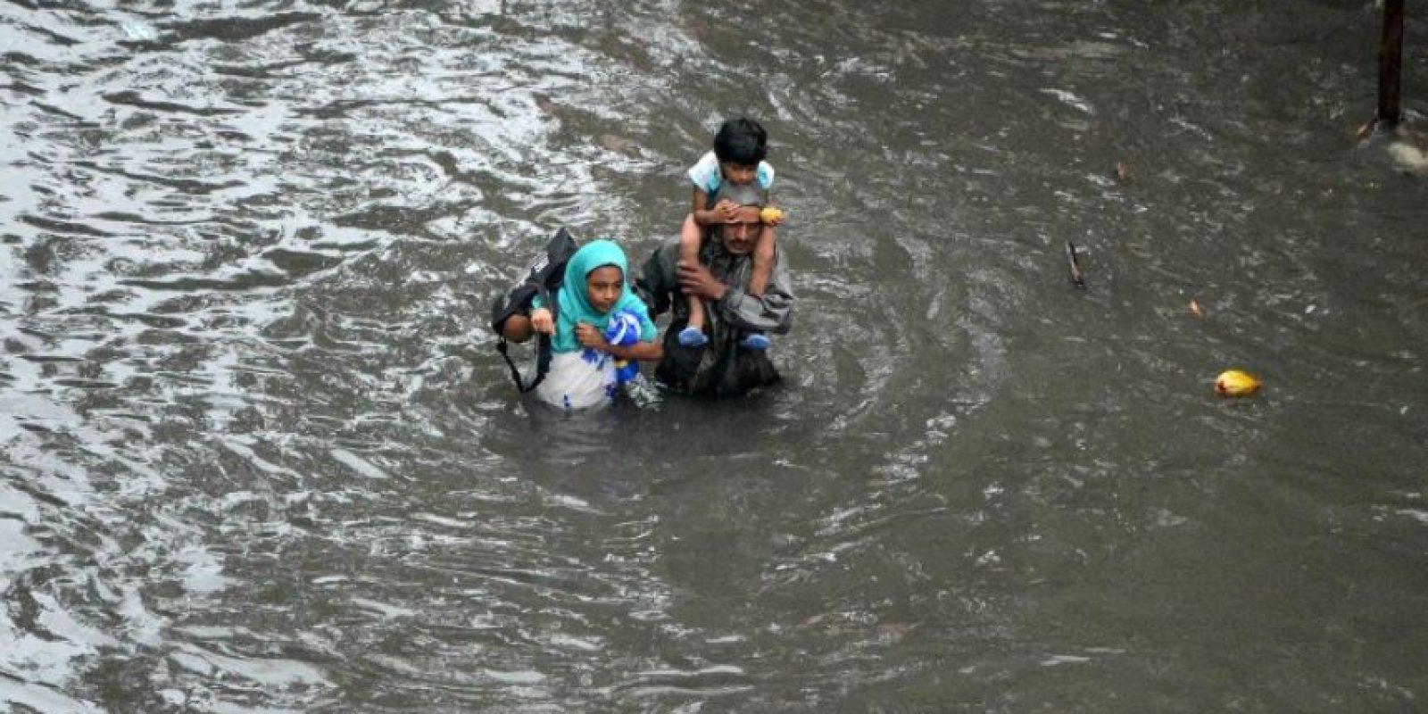 Pero se espera que continúen las lluvias. Foto:AFP