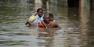 Más de 7 mil personas han sido rescatadas. Foto:AFP