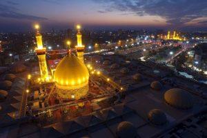 Festival religioso Arbaeen, en Irak. Foto:AFP