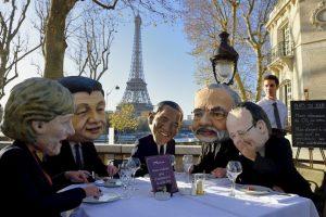 Manifestación por la Cumbre del Clima (COP21) en París, Francia Foto:AFP