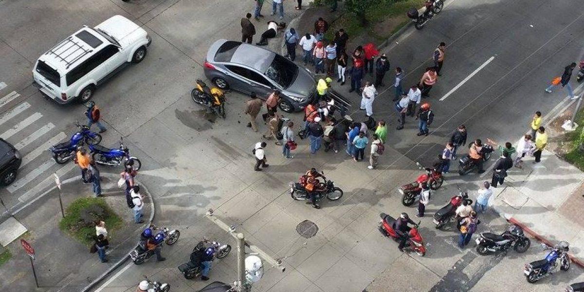 Fotos. El accidente en la avenida Reforma que causa la muerte de un motorista