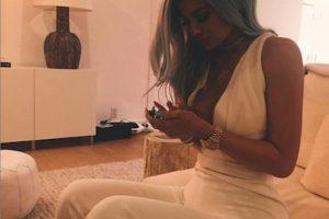 Por ahora, Kylie Jenner se encuentra estrenando look. Foto:Instagram/KylieJenner