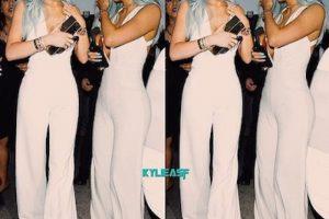 Kylie Jenner acudió al evento para promocionar su línea de extensiones para el cabello. Foto:Instagram/KylieJenner