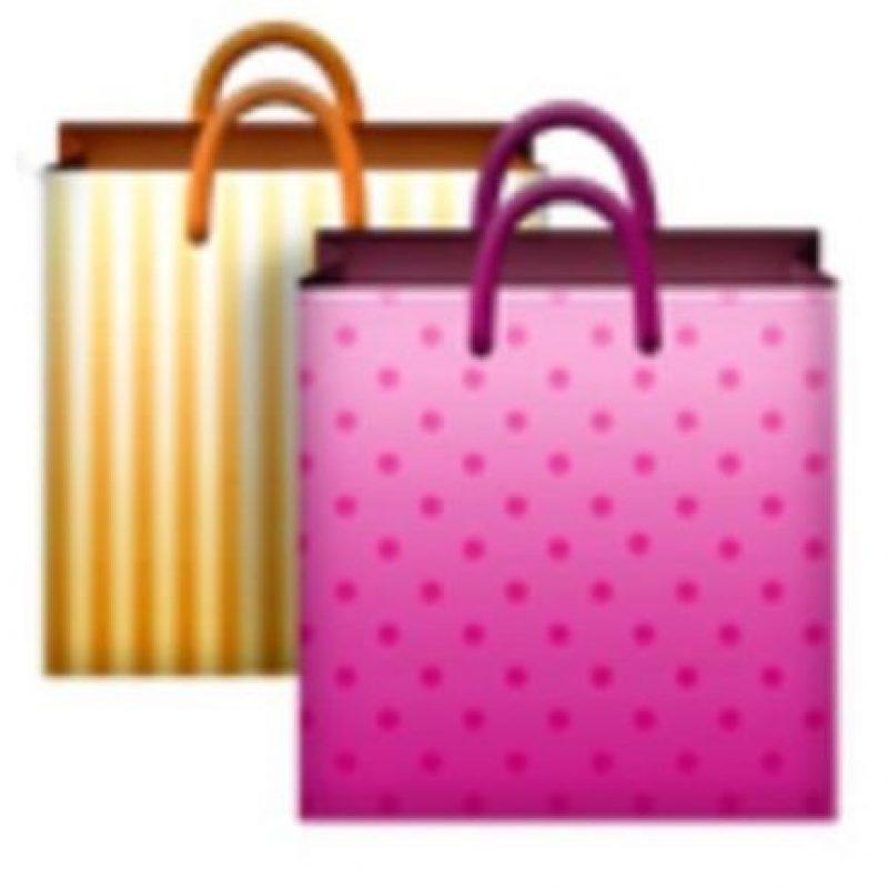 Bolsas de compras. Foto:vía emojipedia.org